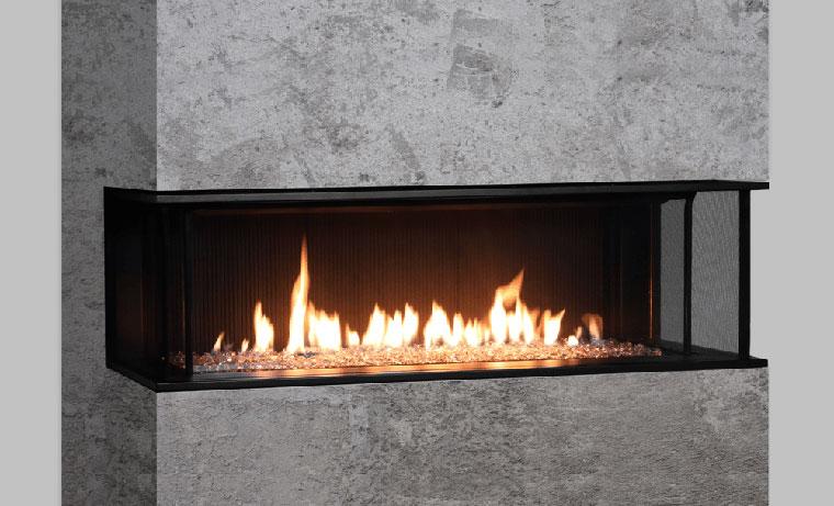cheminée gaz