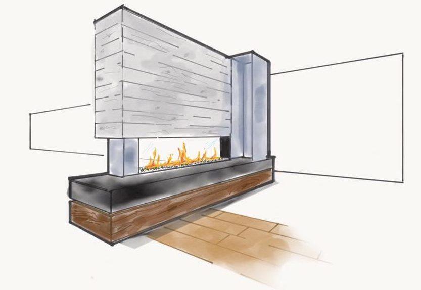 dessin cheminée Kidea